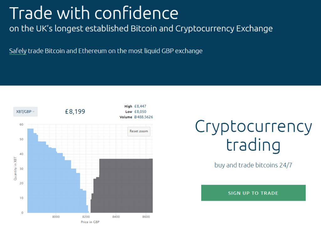 Coinfloor homepage