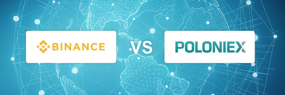 Binance vs Poloniex exchange comparison