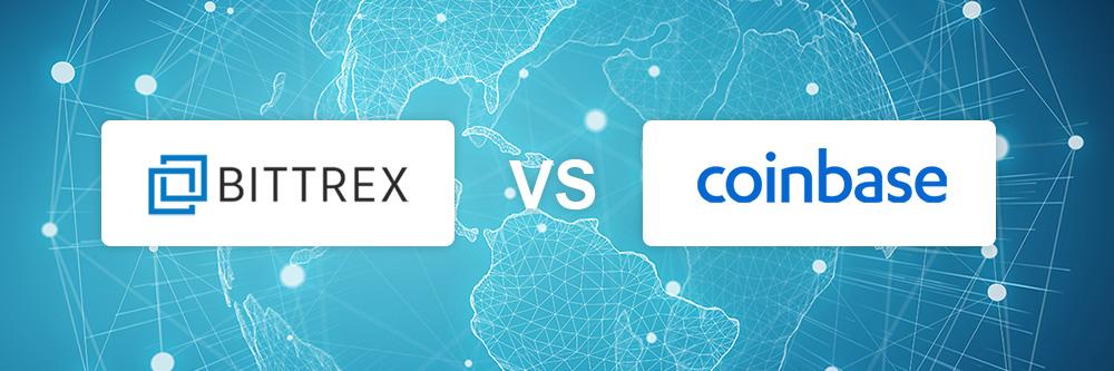 Bittrex vs Coinbase exchange comparison