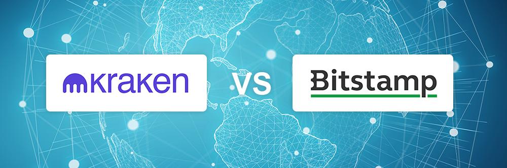 Kraken vs Bitstamp exchange comparison
