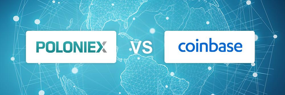 Poloniex vs Coinbase exchange comparison