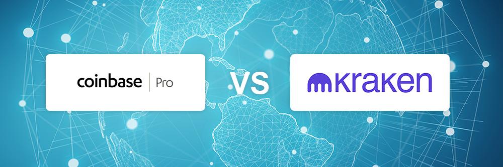Coinbase Pro vs Kraken exchange comparison