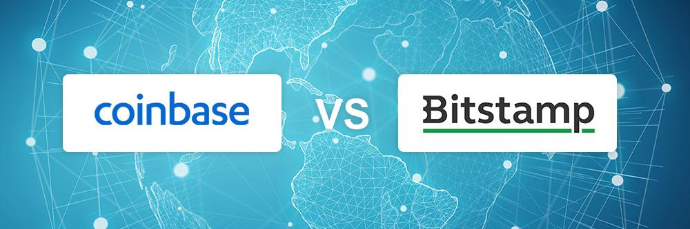 Coinbase vs Bitstamp exchange comparison