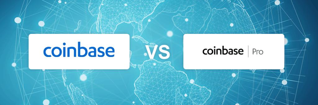 Coinbase vs Coinbase Pro exchange comparison