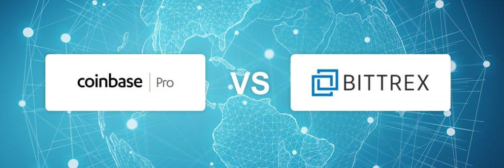coinbase pro vs bittrex exchange comparison