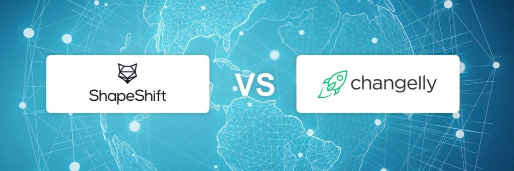 shapeshift vs changelly exchange comparison