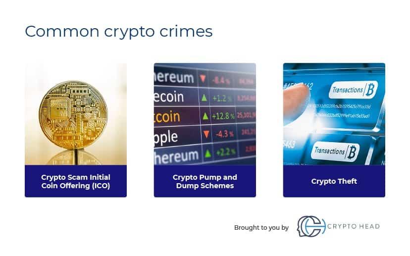 Common crypto crimes