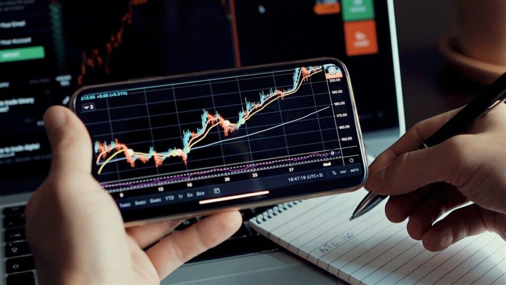 crypto trading on app